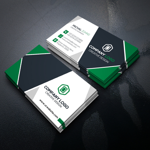 Simple  and Clean Modern Business Card