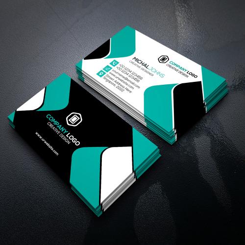 Clean Modern Business Card Design