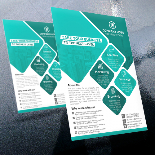Business Corporate Modern Flyer