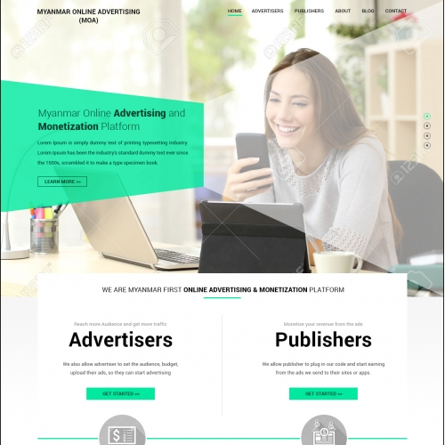 Web Design for Monetizing Platform