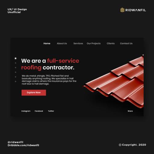 Web Design (UX/ UI Design)