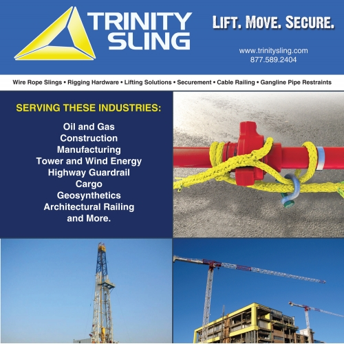 Trinity Sling Brochure Design