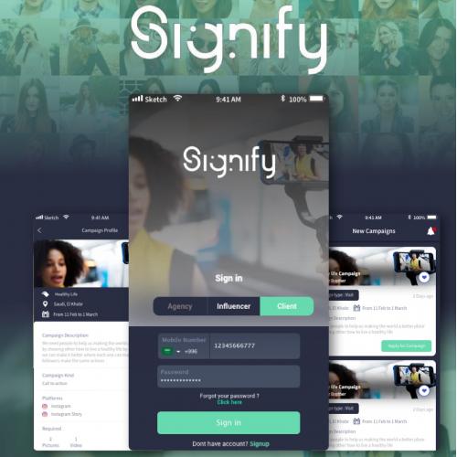 Signify Influencer App
