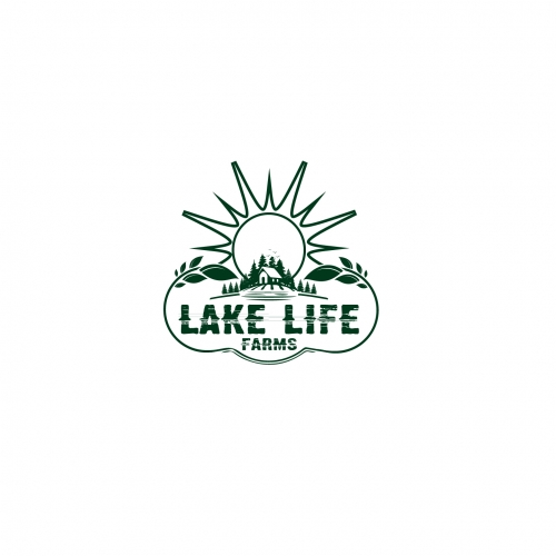 logo for lake farm