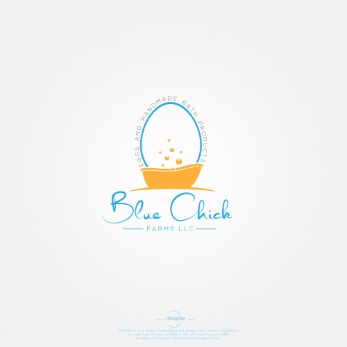 logo for blue chick