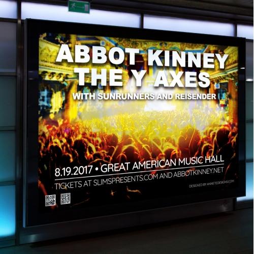 Abbot Kinney Poster