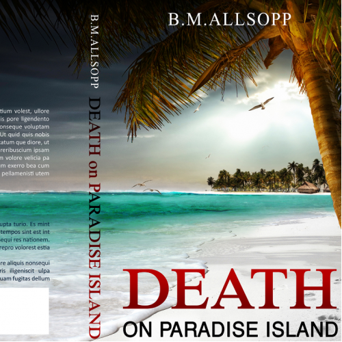 Book cover: Death on Paradise Island