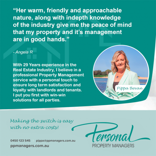 Personal Property Manager Ad Design