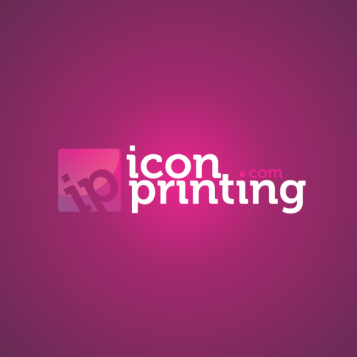 Icon Printing Logo Design