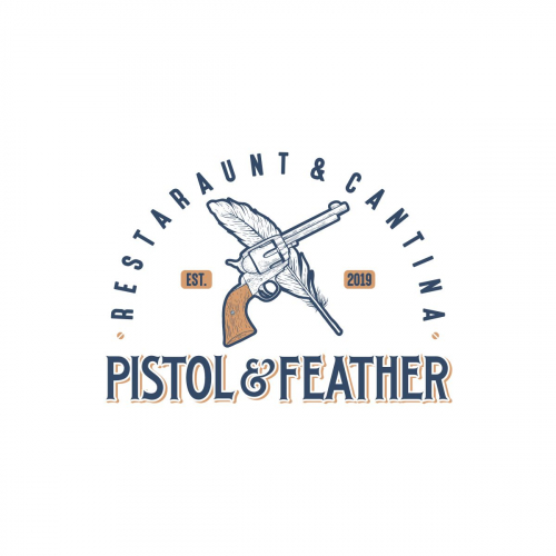 Pistol and Feather