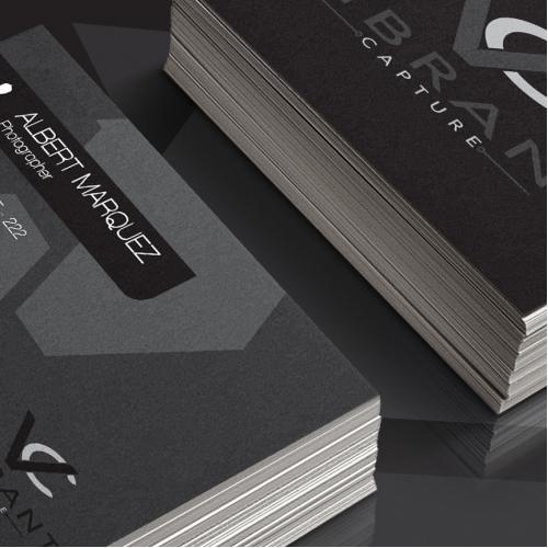 Vibrant Capture Business Card