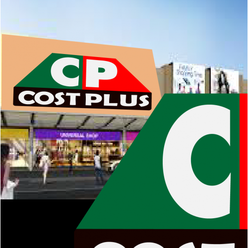 costplus logo and storefront