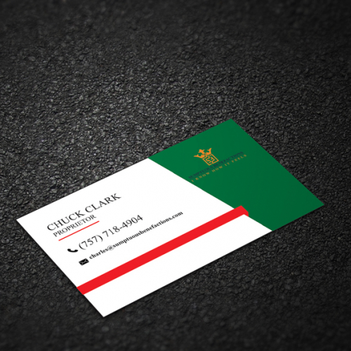 business card