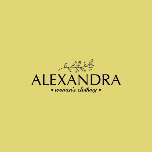 Logo concept for Women's Boutique