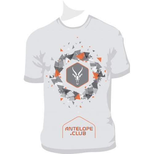 Antelope club T-shirt design