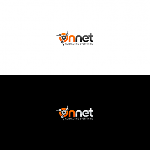 Logo for OnNet - connecting everything