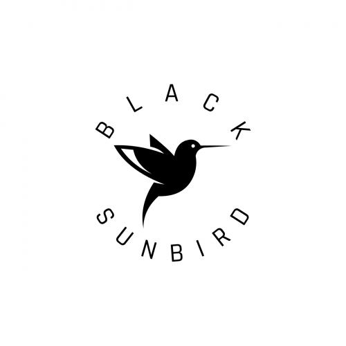 black sun bird