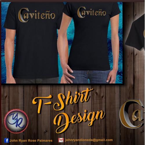 TShirt Design 1 (Caviteño)