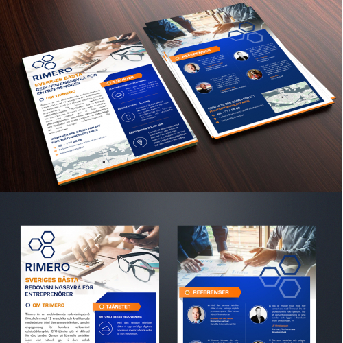 Leaflet for our digital accounting firm