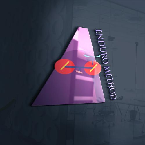 Flat Logo Design.