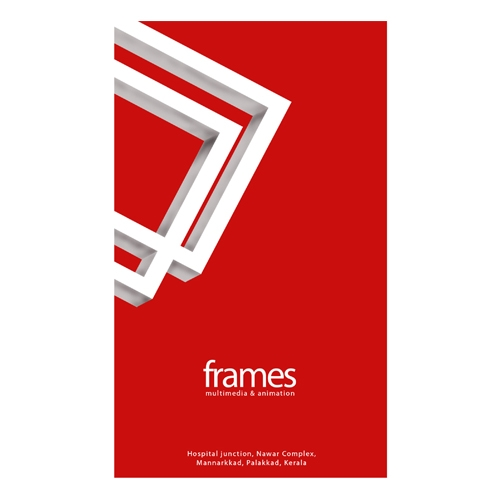 business card logo frames