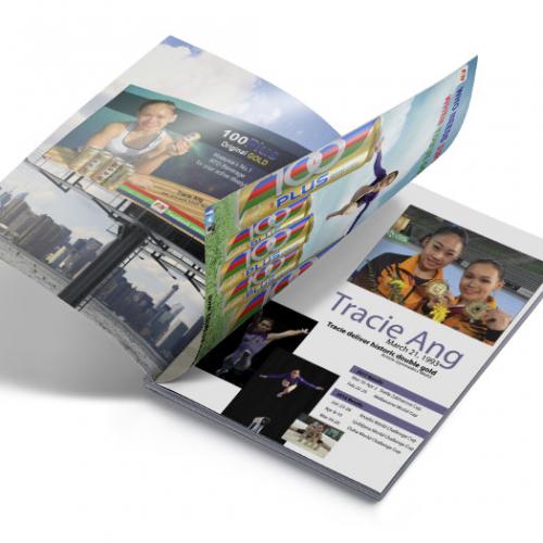 100 plus and model profile (magazine)