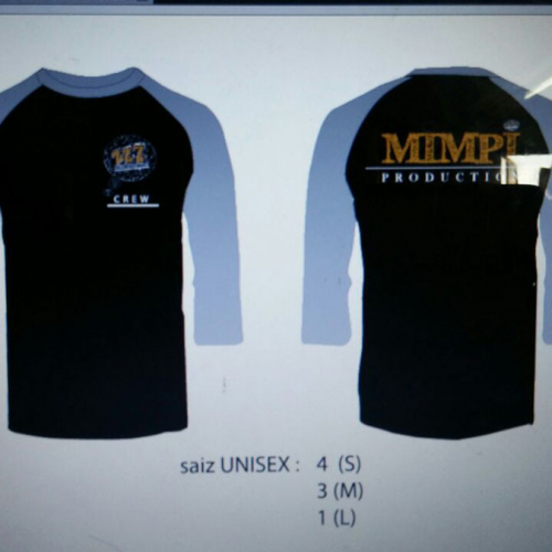 Tshirt for mimpi production