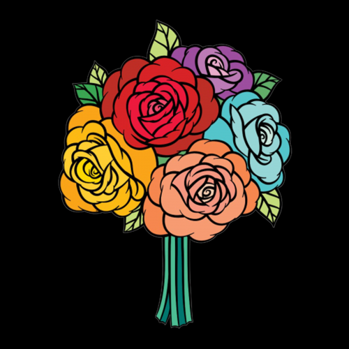 Multi Color Roses Bouquet