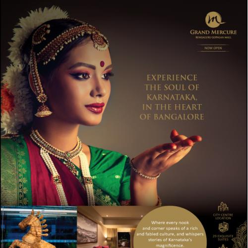 Launch Ad for Grand Mercure Hotel Bangalore