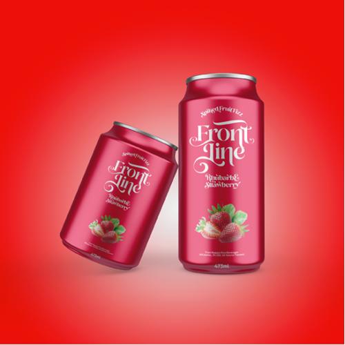 Packaging Design for Spiked Fruit Drink