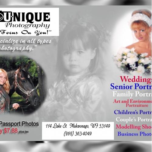 You-nique Photography Ad