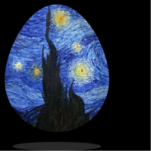 Van Gogh Egg