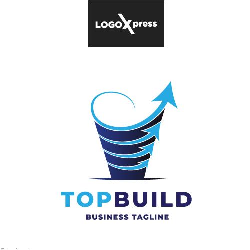 Top Build - Real Estate Logo