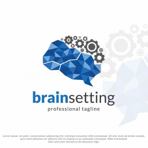 Brain Setting Logo