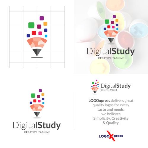 Creative Learning - Digital Study Logo