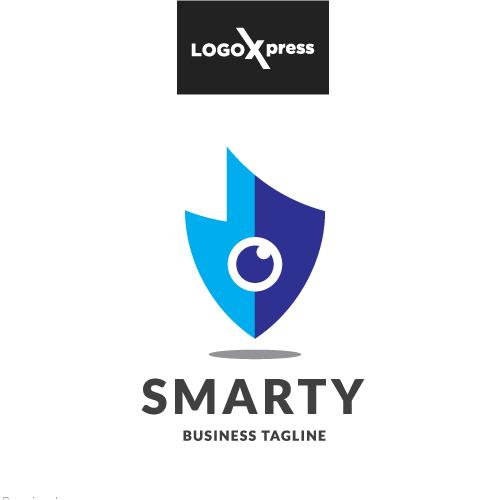 Smart Security Eye Logo