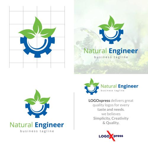 Natural Engineering - Eco Gear Logo