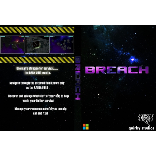 BREACH - BACK/FRONT COVER