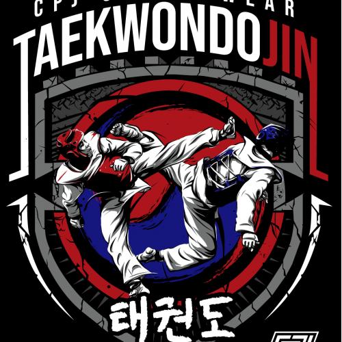 Taekwondo shirt design project