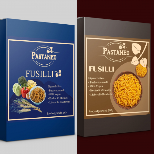 Design of Packing for Fusilli