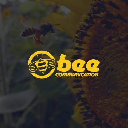 Bee Communication Logo Design
