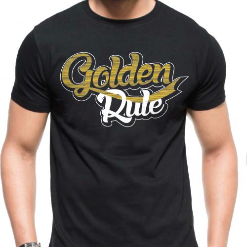 Golden Rule shirt design