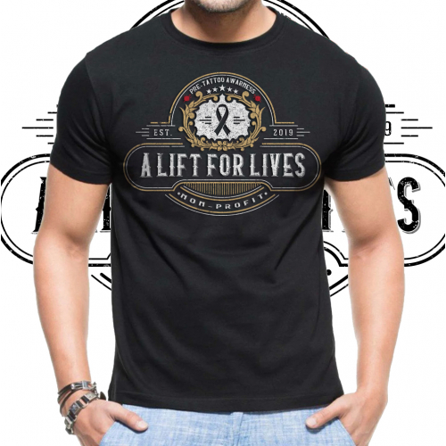 A lift for lives shirt design