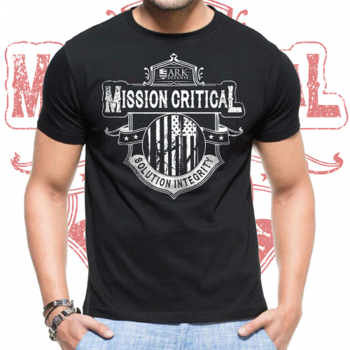 Mission Critical shirt design