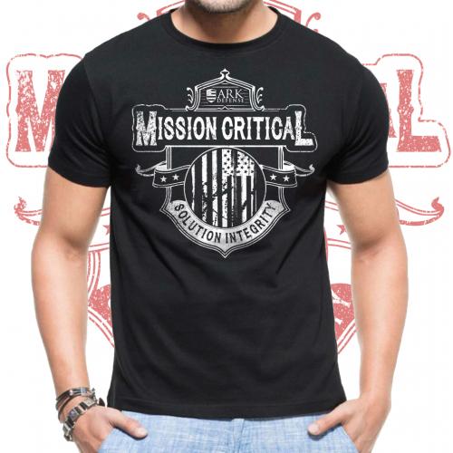 Mission Critical shirt design