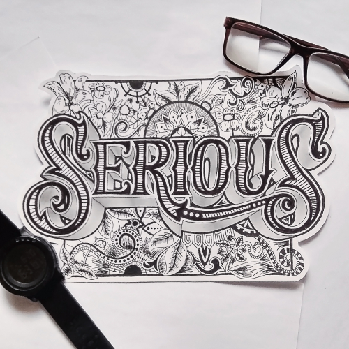 Serious Hand Lettering