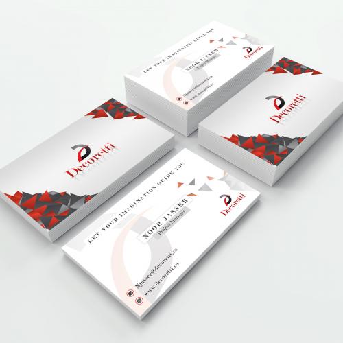 Business card Design (Decoretti)