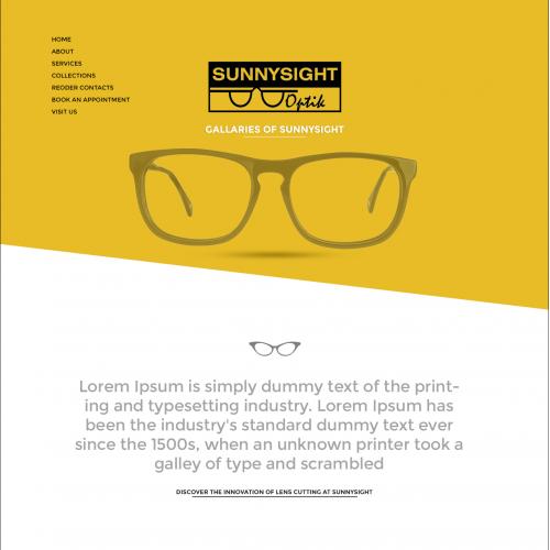 Sunny-Sight Web-Template