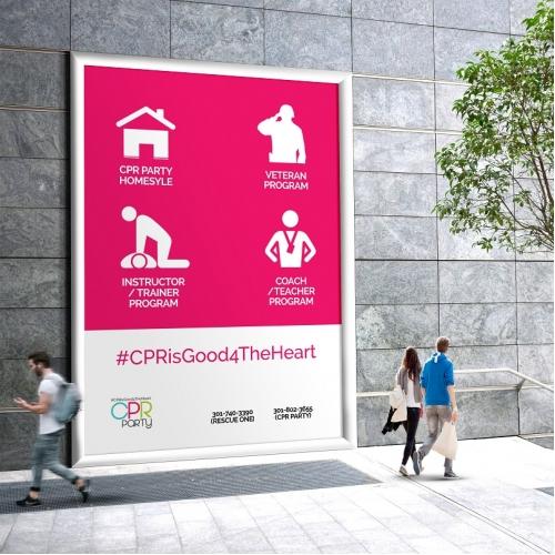 CPR Outdoor Advertisement
