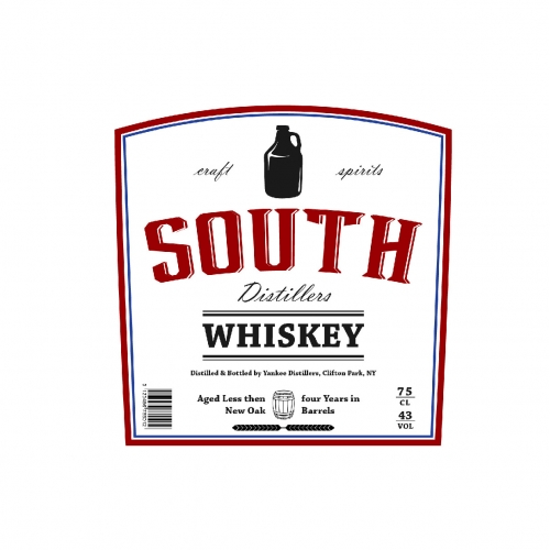 Whiskey label